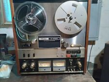 Teac A4300 Reel To Reel Auto Reverse Tape Deck Tested Working. Sounds superb!