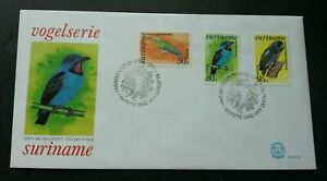 [SJ] Suriname Birds 1977 Owl Fauna Prey (stamp FDC) *see scan