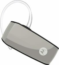 Motorola Hk275+ Plus Super Light Weight Water Resistant Bluetooth Headset Silver