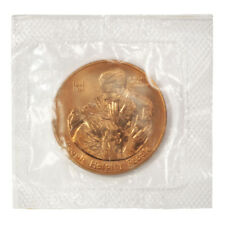 USA American Red Cross 1982 38mm Congressional Bronze Medal Mint Cellophane