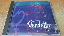 VENDETTA, self-titled; RARE 10 TRACK CD, MINT, CANADIAN IMPORT