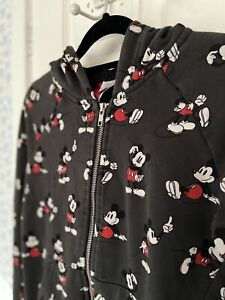 H&M Disney Mickey Mouse Limited Edition Hoodie Size UK8