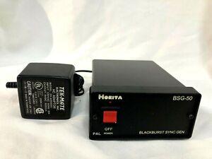 Horita BSG-50 Blackburst Multiple Output Sync Generator w/ Audio Tone Generator