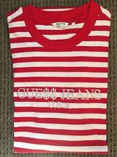 RARE ASAP A$AP Rocky x Guess Jeans David Red T-shirt Tee MEDIUM