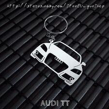 Audi TT Stainless Steel Keychain
