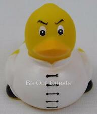 Rubber Duck Bath Tub Toy Kung Fu Master Karate Ducky