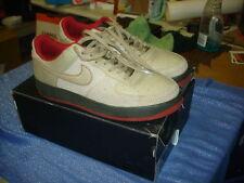 Nike Air Force 1 '07 Premium Tweed Dark Army Red 315180-222 Men's Size 13