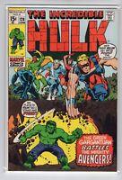 Incredible Hulk Issue #128 Marvel Comics (June 1970) VF+