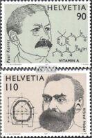Schweiz 1623-1624 (kompl.Ausg.) postfrisch 1997 Nobelpreis