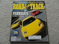 2003 Infiniti G35, Mitsubishi Outlander, Honda Pilot Road and Track Magazine