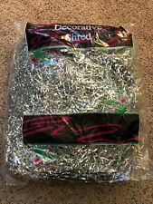 Silver Decorative Shreds 8 Oz Bag- NIP