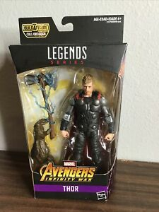 "Marvel Legends 6"" Thor w/ Stormbreaker - Infinity War - Cull Obsidian BAF-A1"