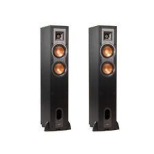 Klipsch R-24F Floor Standing Speakers Black (1 Pair - Two speakers)