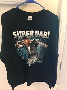 Cam Newton Super Dab Long Sleeve Shirt Large Carolina Panthers 2016 Gildan MVP