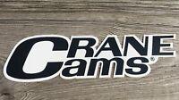 Crane Cams Decal-Drag Racing NHRA Street Outlaws-Man Cave Garage Hot Rod-Lg.