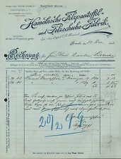 Hameln, factura 1898, hamelnsche filzpantoffel-y fieltro zapato-fábrica