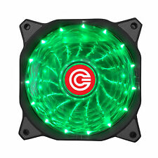 Circle CG 16XG - GREEN Silent High Quality LED Gaming Computer Case Fan