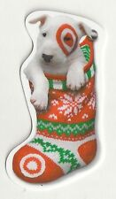 Target Bullseye the Dog Stocking Die-Cut Christmas 2014 Gift Card 790-01-2110