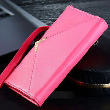 Fashion Lady Women Card Holder Case Leather Clutch Wallet For iPhone 7 7 Plus 6S