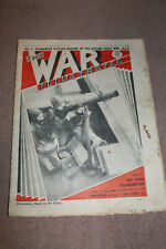 """Scarce Real Early WW2 British """"The War Illustrated"""" Newspaper Dated Nov. 11,1939"""