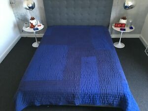 """Brand New in packaging habitat """"Indigo"""" king size bed spread RRP£150 220 x 230cm"""
