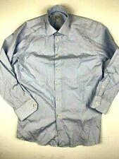 ETON Slim Mens Dress Long Sleeve Shirt Size 15.5 (39) Blue