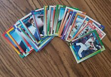1990 Topps Chicago White Sox Team Set with Traded (34 cards)
