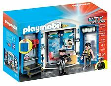 PLAYMOBIL 9111 Police Station Play Box Ages 4+ Toy Fight Car Camera Key