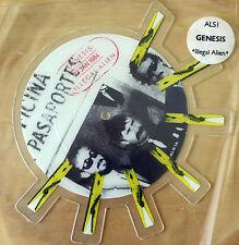 EX! GENESIS ILLEGAL ALIEN Shaped VINYL Pic Picture  Disc