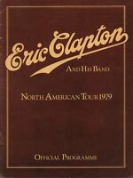 ERIC CLAPTON / MUDDY WATERS 1979 BACKLESS TOUR CONCERT PROGRAM BOOK / NMT