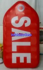 6.5 FT inflatable Red Tag Sale Sign Advertising Promotion Retail Attraction
