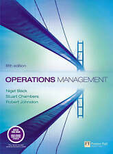Operations Management: WITH Organizational Behaviour AND Accounting and Finance