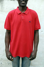 Levis Mens Standart fit Short Sleeved Polo Top Cotton Auth Red XL Extra Large