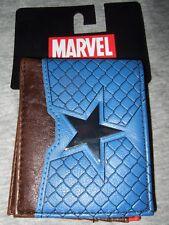 New The Avengers Captain America Metal Star Marvel Comics Bi-Fold Wallet