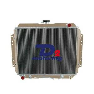 Aluminum Radiator FOR HOLDEN RODEO TF G3 G6 2.2L/2.6L PETROL 1987-1997 96 AT/MT