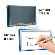 """5.0""""/7.0""""inch 800X480 TFT LCD Display Touch Panel SD Card Module SSD1963 Arduino"""
