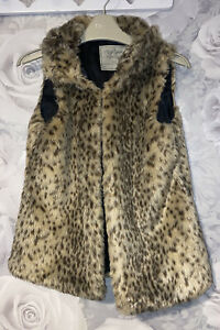 Girls Age 8-9 Years - Furry Gilet / body warmer