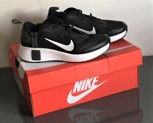 Genuine Black NIKE REPOSTE Junior Trainers UK 10 Eur 27.5 New Boxed Unisex Schuh