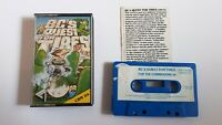 BC'S QUEST FOR TIRES - Commodore 64 C64 cassette game (Software Projects)