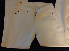 7 For all Mankind Women 26 White