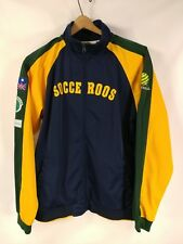 Team Australia Socceroos Official Track Lightweight Zipped Jacket Size Small 22""