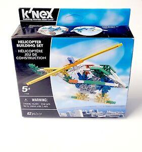 K'NEX 17036 Helicopter Building Set 62 Piece NEW Knex