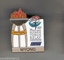 WYONG  2000 OLYMPIC AMP TORCH RELAY PIN
