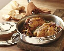 All-Clad 3-Qt Tri-Ply Stainless-Steel  Saute Pan without Lid