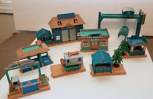 Vintage Tonka Kentoys 1999 AMT Playset Buildings Lot