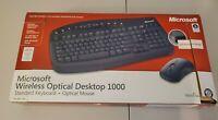Microsoft Wireless Optical Desktop 1000 Keyboard Optical Mouse WOA6L994 Mac PC