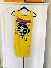 Moschino Powerpuff Girl Yellow Dress, Sz IT 40/ UK 8