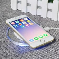 Qi Wireless Fast Charger Dock Charging Pad Mat for Apple iPhone X 8 8 Plus+