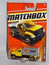 Matchbox Diecast 2011 Construction Series #48 MBX Tanker Yellow & Grey