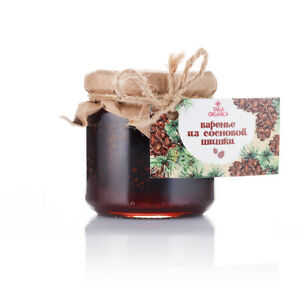 Natural Sweetness Jam Marmelade Pine Cone Eco Friendly Organic Healthy Goods